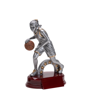 Girls Basketball Silverline Trophy - 7 5