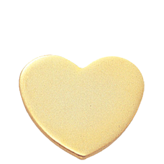 Gold Heart of Love Lapel Pin | All Lapel Pins | Cheap Sports