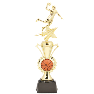 Star Spark Basketball Trophy 14 Quot Basketball Trophies