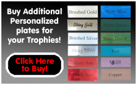 Engraved Trophy Plates
